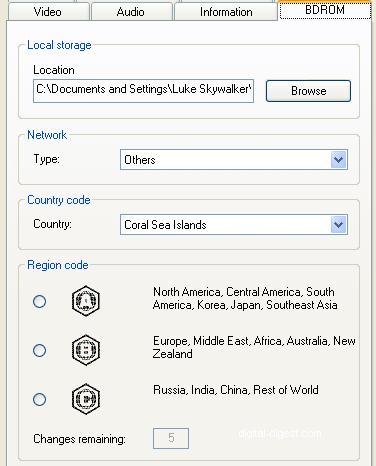 PowerDVD 8 Configuration: BDROM