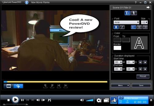 PowerDVD 8: Movie Remix