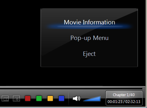 PowerDVD 9: Cinema Mode