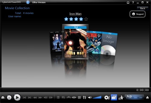 PowerDVD 9: Movie Collection FancyView