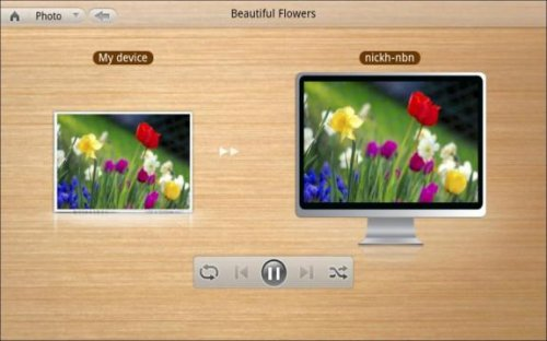 PowerDVD Mobile: Play To
