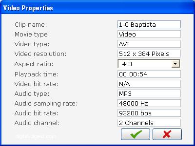 PowerProducer: Clip Properties