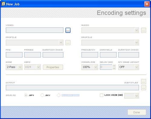 RipBot264: Encoding Settings