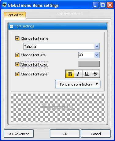 TDA: Font Editor