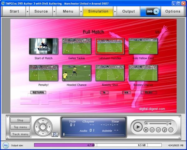 TDA: Simulation