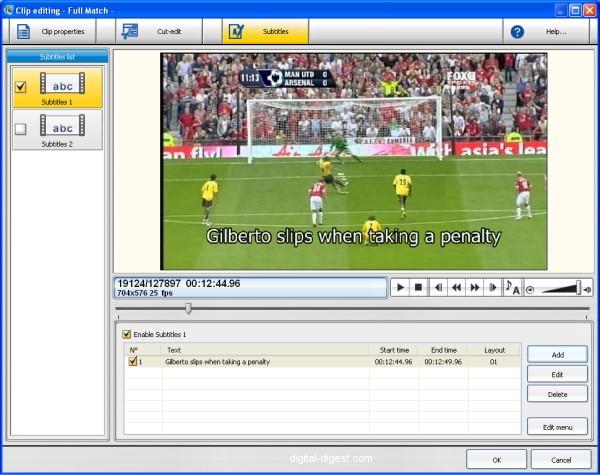 TDA: Subtitles