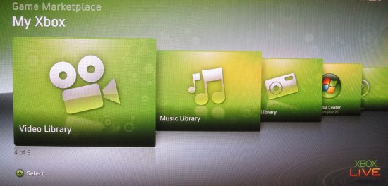 Xbox 360: Video Library