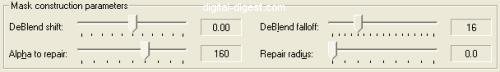 VirtualDub: DeLogo DeBlend Parameters