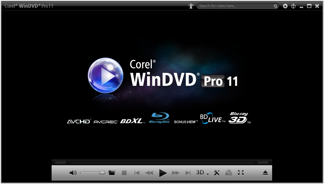 Broadest video and audio format support