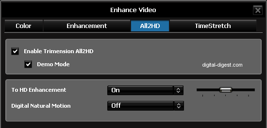 WinDVD 9: All2HD Config