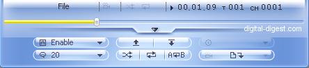 WinDVD 8.0's DivX Subtitle Controls