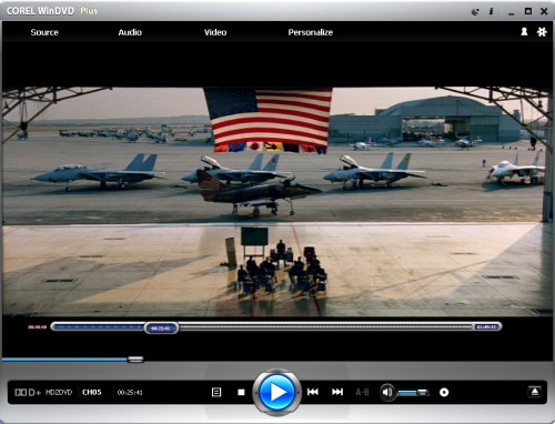 WinDVD 9: HD DVD Playback