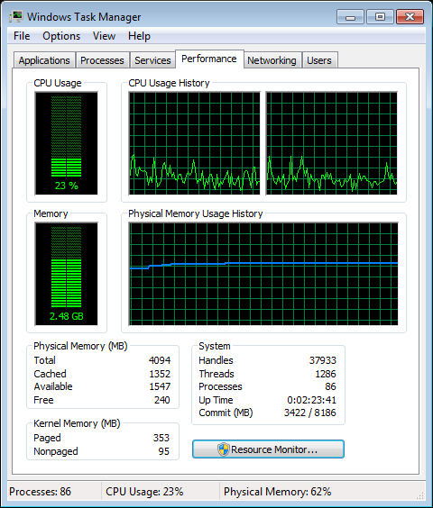 WinDVD 11: Blu-ray CPU Usage