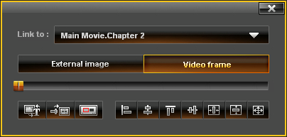 EasyDVD: Menu - Button Properties
