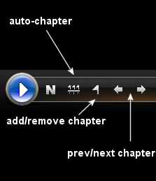 EasyDVD: Source - Chapter Controls