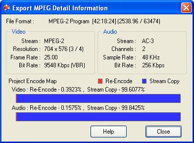 Womble MPEG Video Wizard: Re-Encoding
