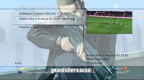 Xbox 360: Media - Video Play