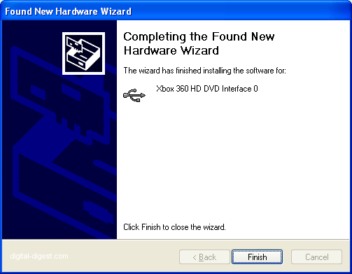 Found New Hardware Wizard: Step 3