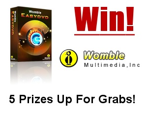 Womble EasyDVD Competition