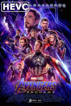 Avengers: Endgame - HEVC H.265 HD 1080p Theatrical Trailer #2
