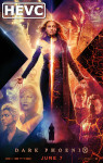 Movie Poster for Dark Phoenix - HEVC H.265 HD 1080p Theatrical Trailer