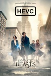 Movie Poster for Fantastic Beasts and Where to Find Them - (ProRes Source) HEVC H.265 1080p Theatrical Trailer