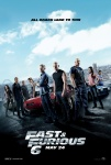 Movie Poster for Fast & Furious 6 - H.264 HD 1080p Theatrical Trailer