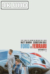 Movie Poster for Ford v Ferrari - HEVC/MKV 4K Ultra HD Trailer #2