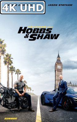 Fast & Furious Presents: Hobbs & Shaw - HEVC H.265 4K Theatrical Trailer #2