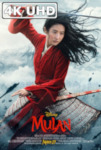 Movie Poster for Mulan - HEVC/MKV 4K Ultra HD Theatrical Trailer #2