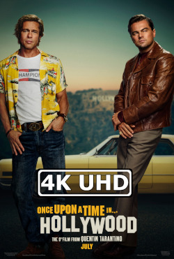 Once Upon a Time ... in Hollywood - HEVC H.265 4K Ultra HD Red Band Trailer
