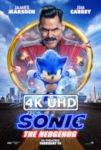 Movie Poster for Sonic the Hedgehog - HEVC/MKV 4K Ultra HD Trailer #2