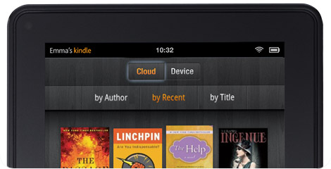 Kindle File Cloud Support