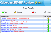 Cyberlink BD / HD Advisor