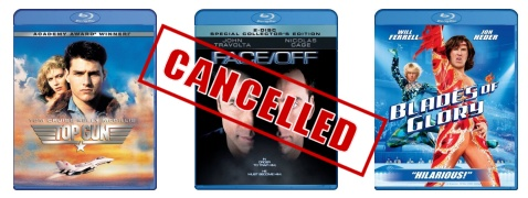 Cancelled Blu-ray titles