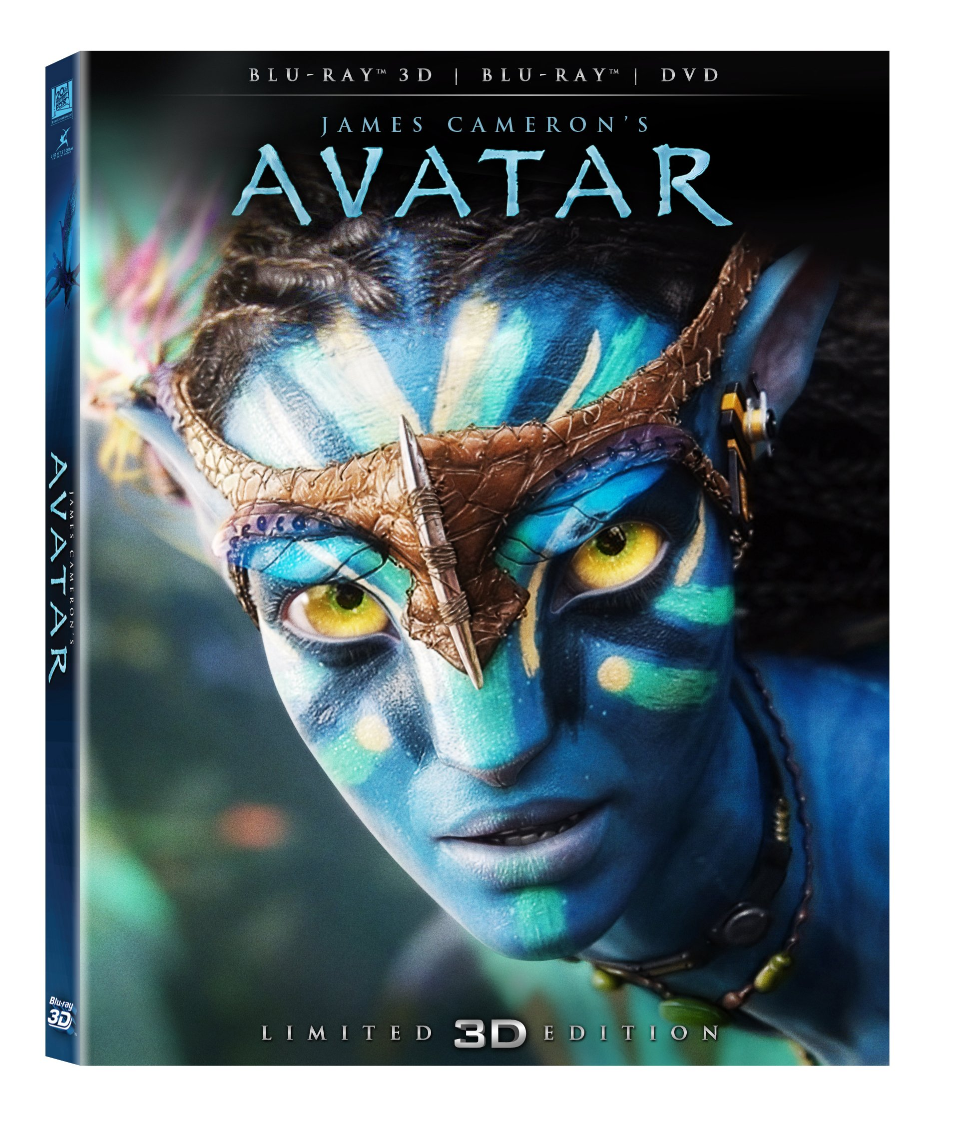 The wait is over the retail blu ray 3d version of avatar is finally
