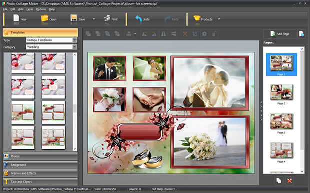 software for making collage