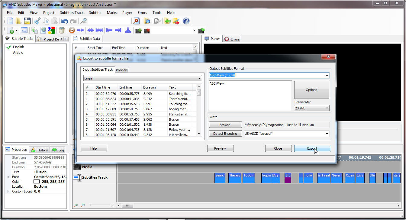AHD Subtitles Maker Professional 5 21 23 | Software
