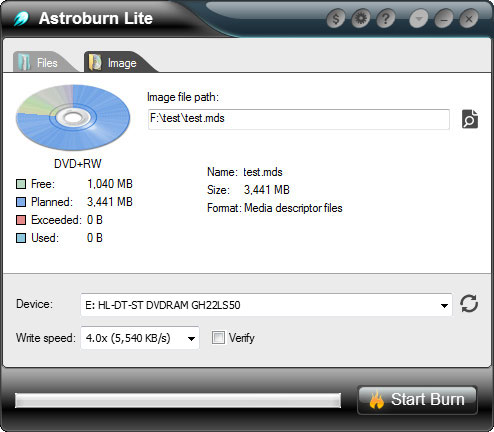 Astroburn lite скачать бесплатно русская версия