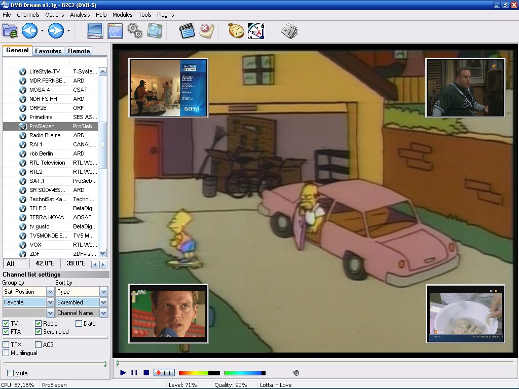 Resultado de imagen de DVB Dream