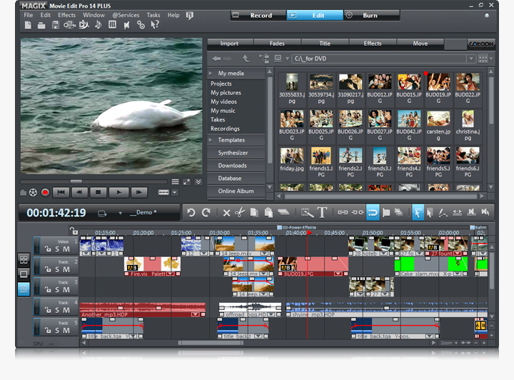 التعديل الفيديو MAGIX Movie Edit 2014, 2013 Magix_Movie_Edit_Pro