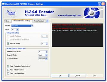 mainconcept mpeg encoder gratuit