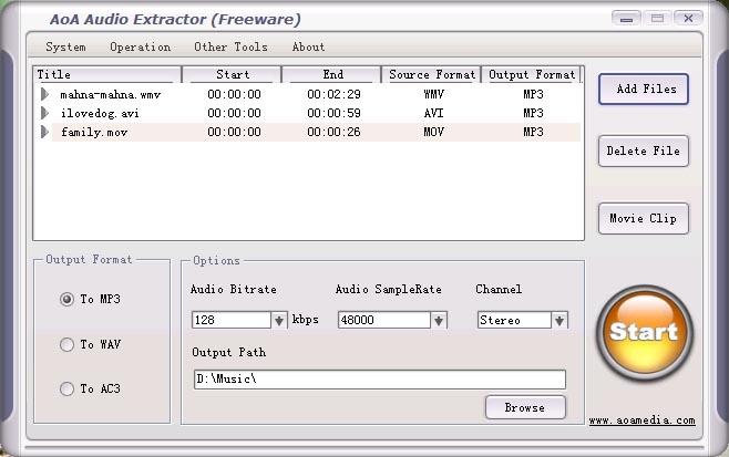 Aoa audio extractor скачать бесплатно - фото 3