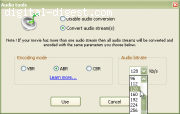Audio converting tool