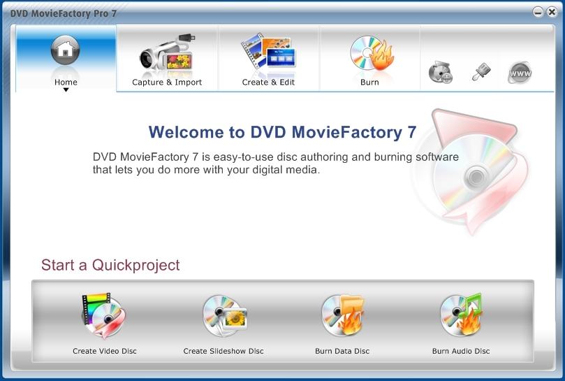 Corel DVD MovieFactory Pro