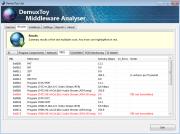 DemuxToy TS Analyser PID Analysis Screenshot