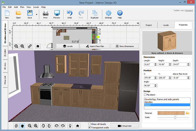 Interior Design Furniture Placement Software ~ Interior design d software digital digest