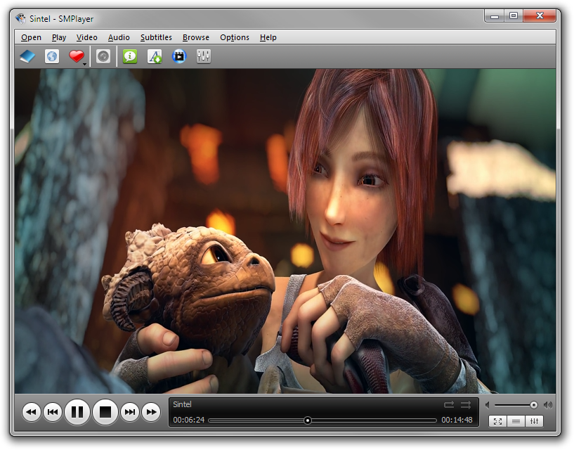 Live media player.