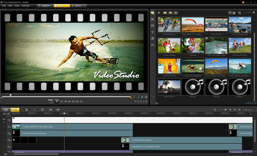 Videostudio pro 2018 update 3 software digital digest for Corel video studio templates download