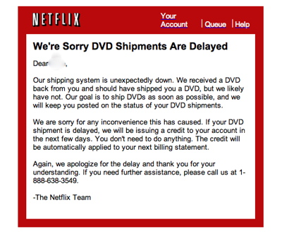 Netflix Apology Picture